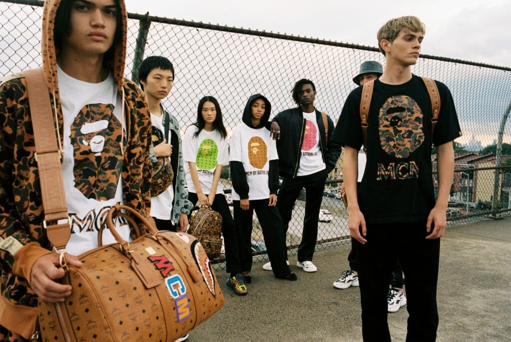 The BATHING APE® x MCM Collection Is the Latest Streetwear Holy Grail