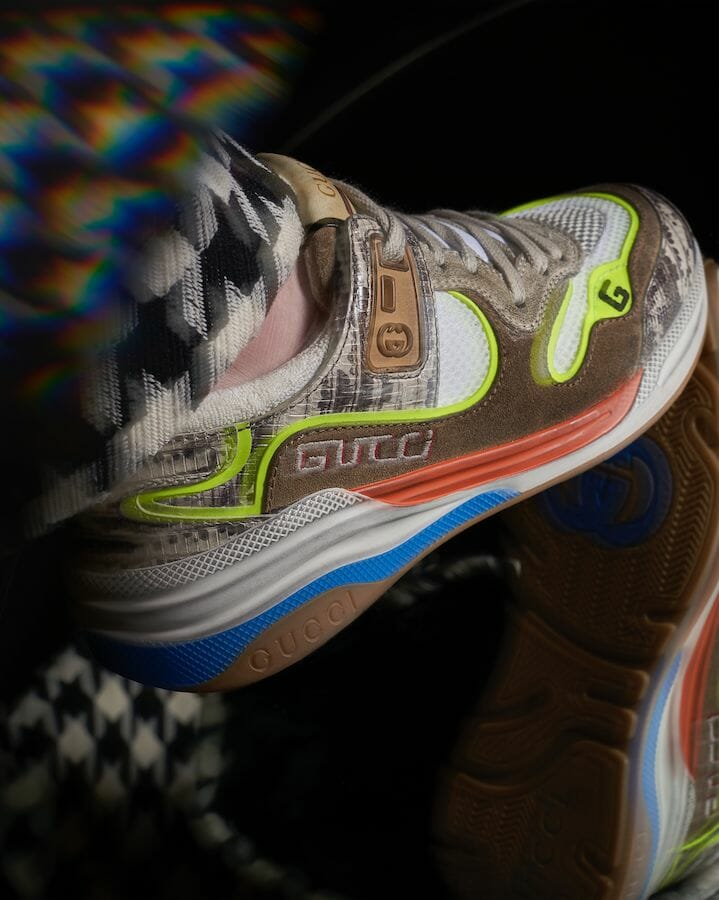 Mirror Act — the Gucci-isms and Eclecticism of the Gucci Fall/Winter '19 Ultrapace Sneakers