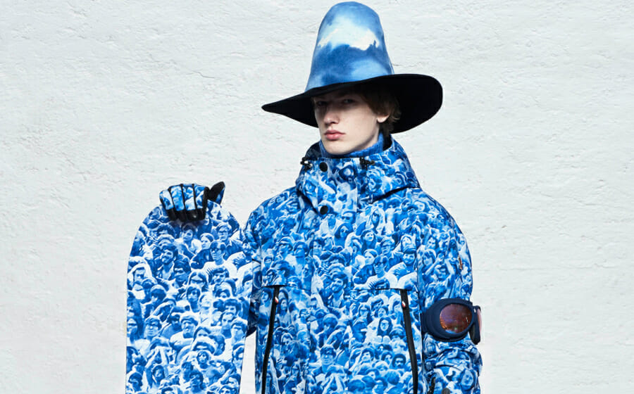 Sandro Mandrino Takes 3 Moncler Grenoble from the Mountains To Woodstock