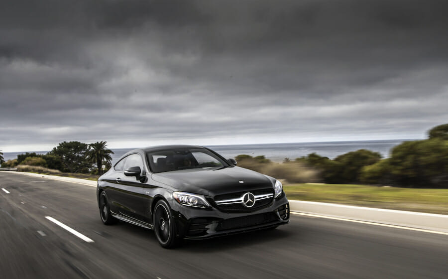 Fine Tuning — the Speed and Power of the New Mercedes-AMG C43 Coupé