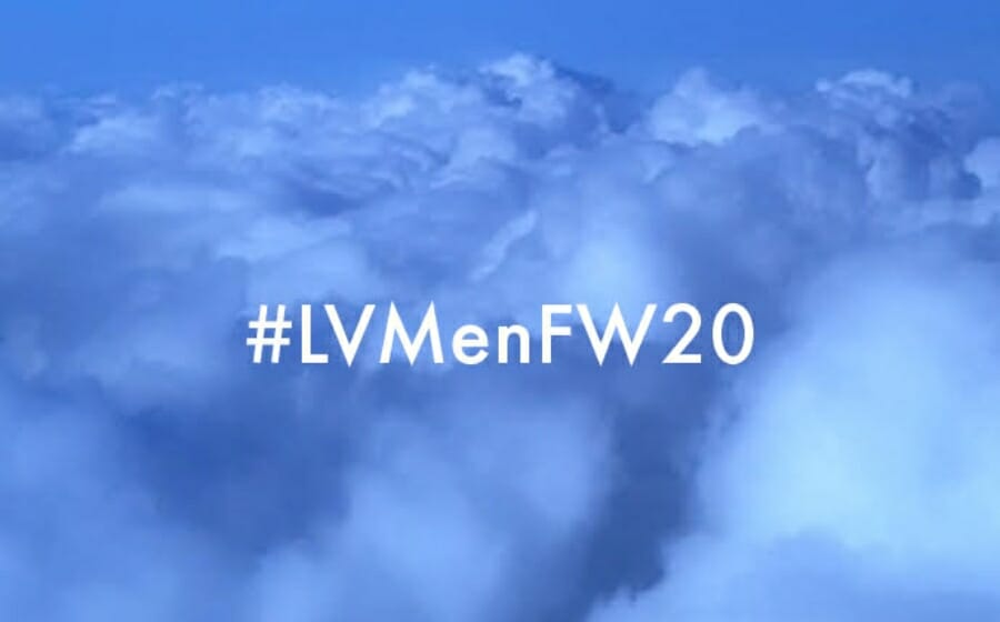 LIVESTREAM — Louis Vuitton Fall/Winter '20 Menswear Show