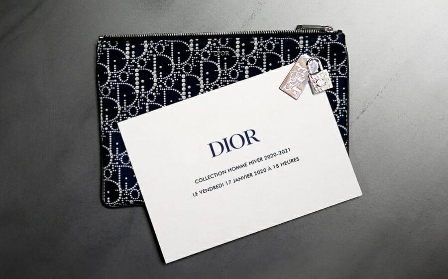 LIVESTREAM — Dior Men's Winter 2020 Show