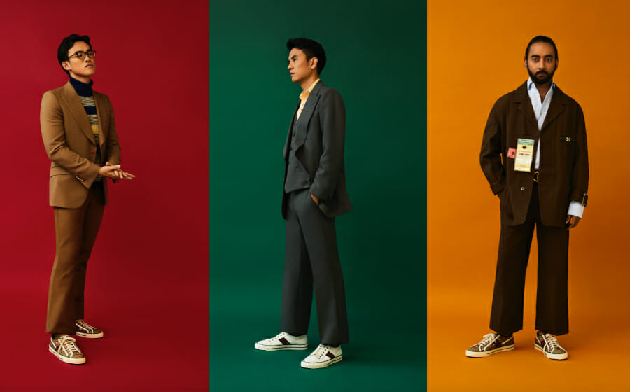 Reimagined Archive — the Journey Of Three Entrepreneurs And Their Gucci Tennis 1977 Sneakers