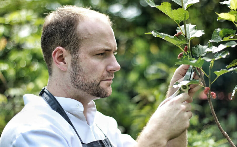 #MensFolioMeets Chef Oliver On Open Farm Community's New Sustainable Menu