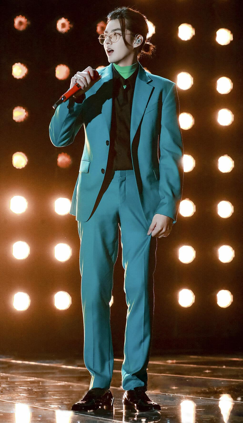 Kris Wu Brings the Man Bun Trend Back (Sort Of)
