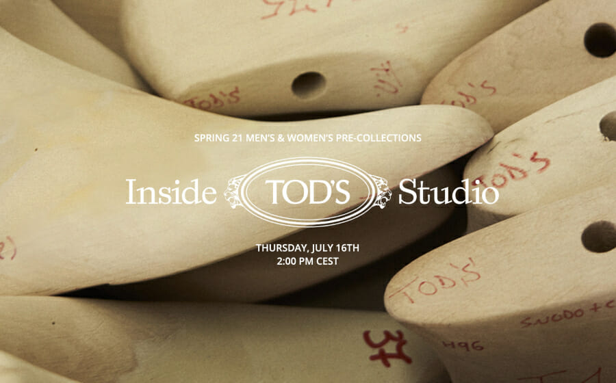 LIVESTREAM — Tod's Pre-Spring 2021 Men's and Women's Collection