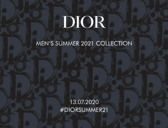LIVESTREAM — Dior Men's Summer 2021 Collection