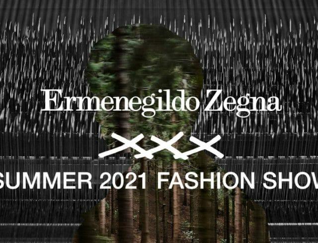 LIVESTREAM — Ermenegildo Zegna XXX Summer 2021 Phygital Fashion Show
