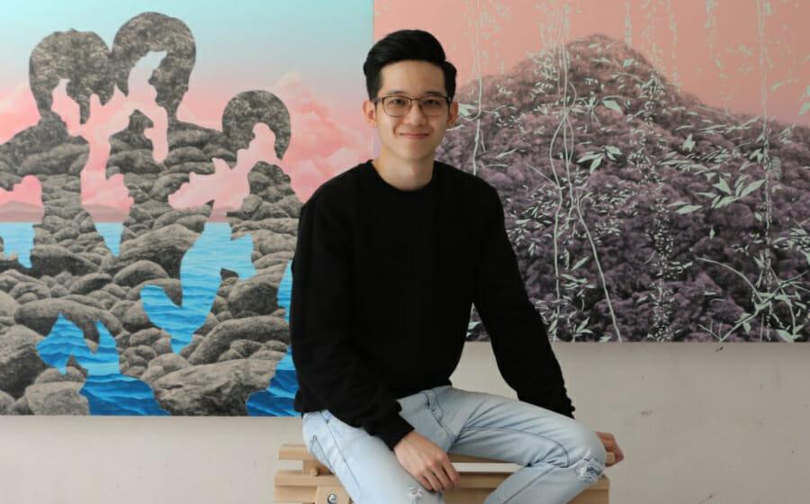 #MensFolioMeets Paradise Obsessed Malaysian Artist Chok Yue Zan