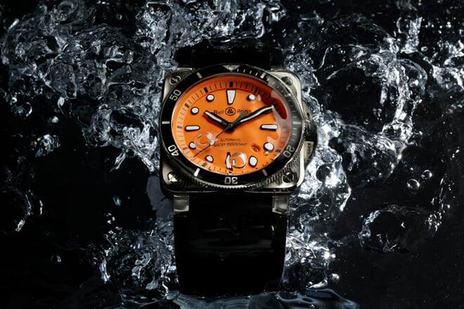 Bell & Ross BR 03-92 Diver Orange Boutique Edition latest watch releases