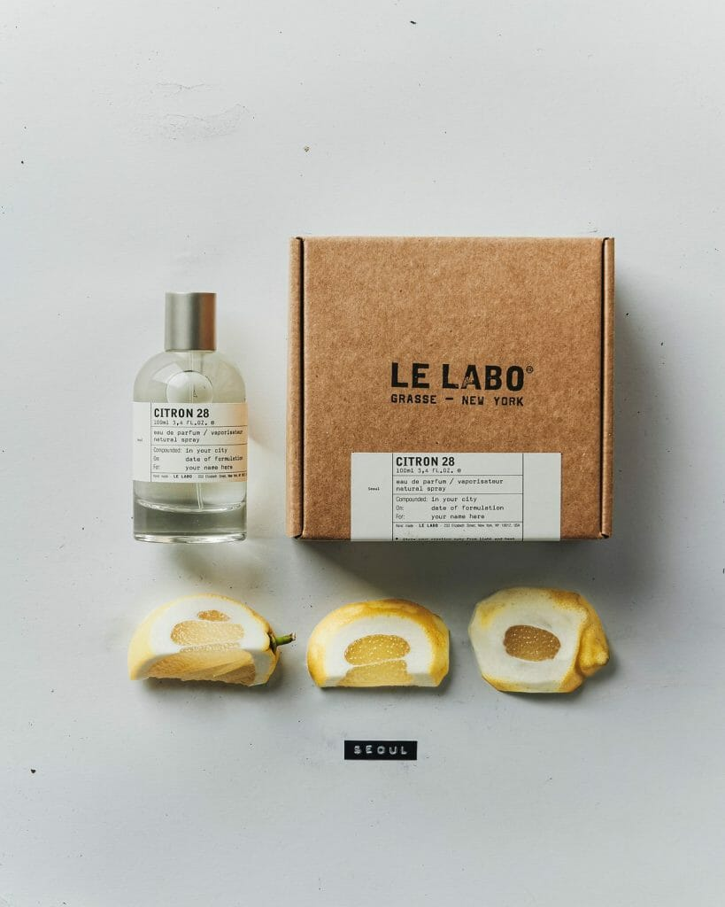 fragrances with incredible sillage Le Labo Citron 28 review