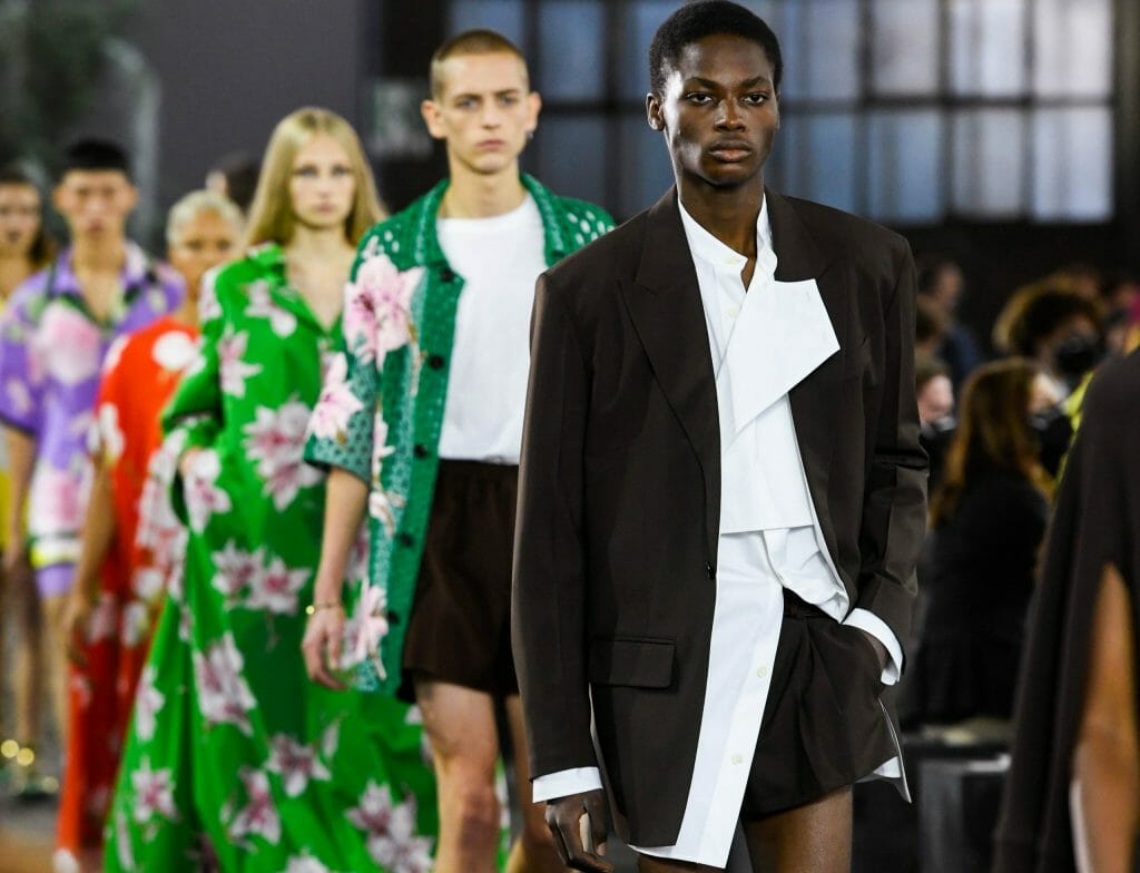 The Valentino Spring Summer 2021 Collection Modernises House Codes