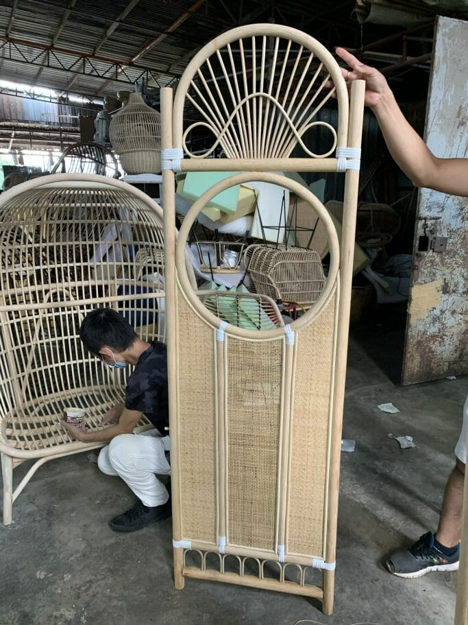 Priscilla Ong-Shunmugam On her Suvarnabhumi Rattan Furniture Line