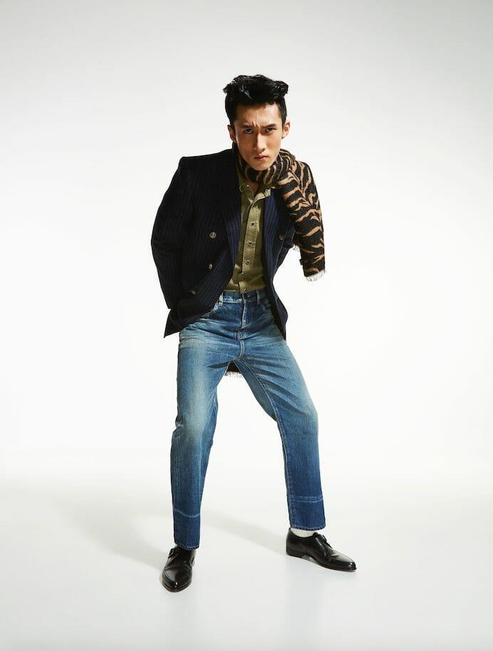 Singaporean Model Suyu Gets Dapper in Saint Laurent Fall Winter 2020