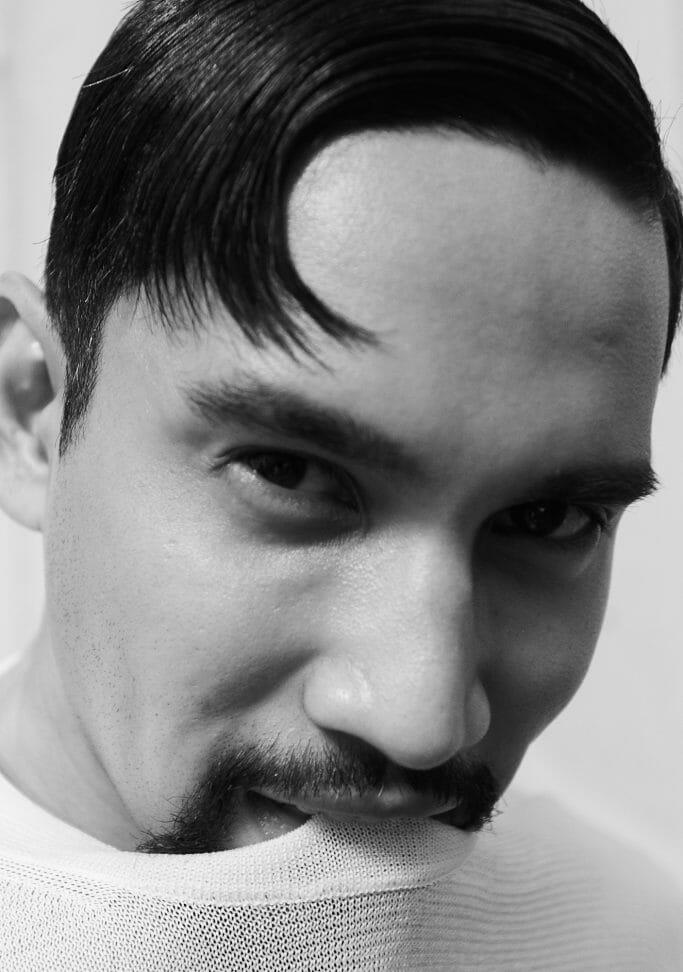 Malaysian model actor Idris Khan