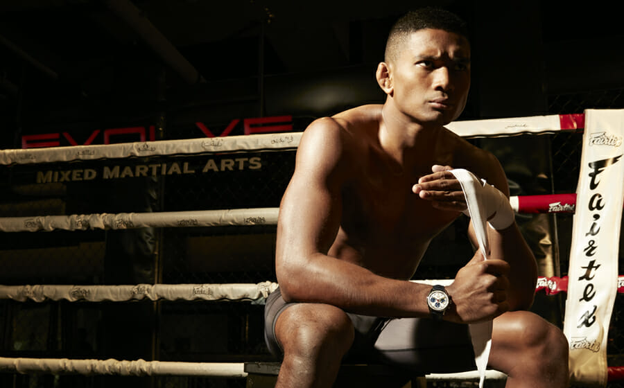 ONE Championship Athlete Amir Khan Takes on The Lightweight Watches of 2020