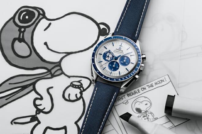 Omega, Snoopy and NASA