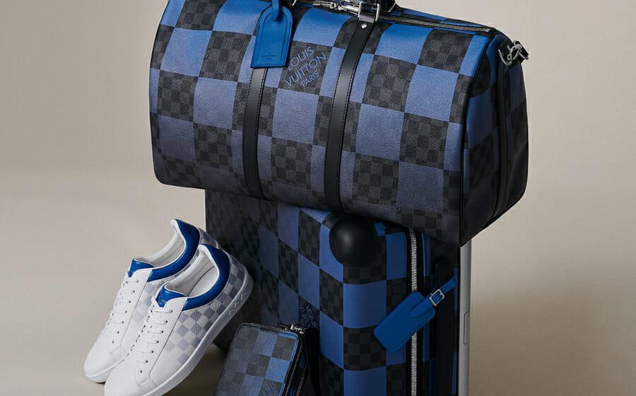 The Louis Vuitton Damier Graphite Giant Collection is One Subtle Flex