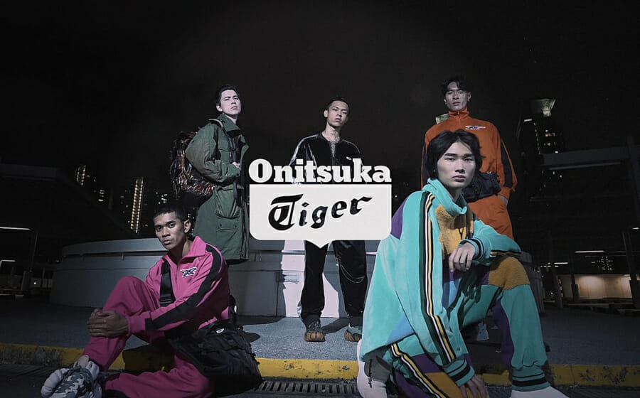 Our Models Of The Year 2020 Swerve in Onitsuka Tiger's Autumn Winter 2020 Collection