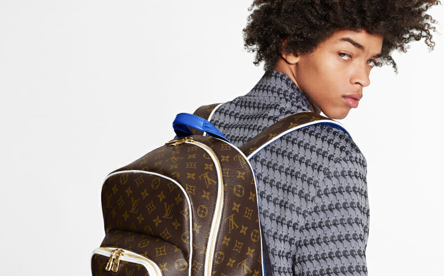 The Louis Vuitton x NBA collection is A Big Basketballer Fit