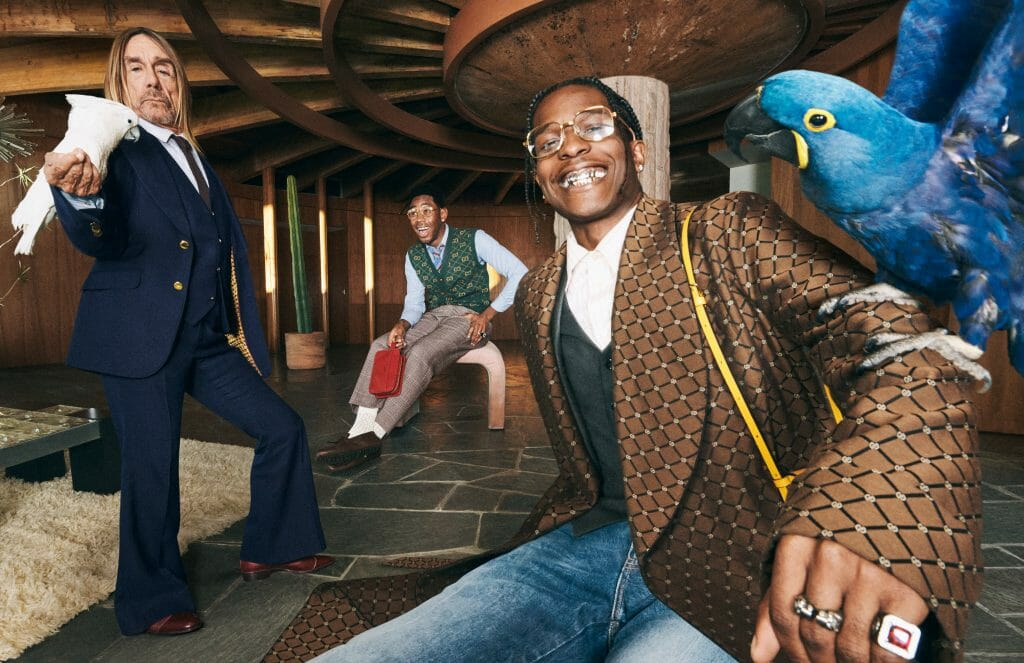 A$AP Rocky, Iggy Pop and Tyler the Creator Go Ham In the Gucci Tailoring Campaign