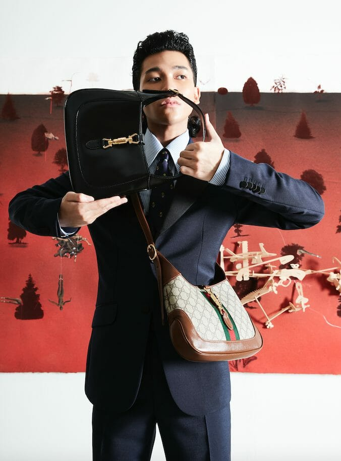 The Gucci Jackie Bag is Tailor Made For Modern Men
