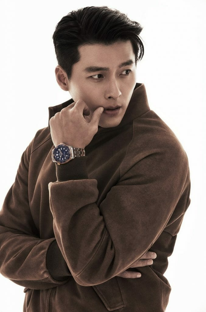 #ManCrushMonday — Hyun Bin Flexes As the first Korean Celebrity To Be an Omega Ambassador