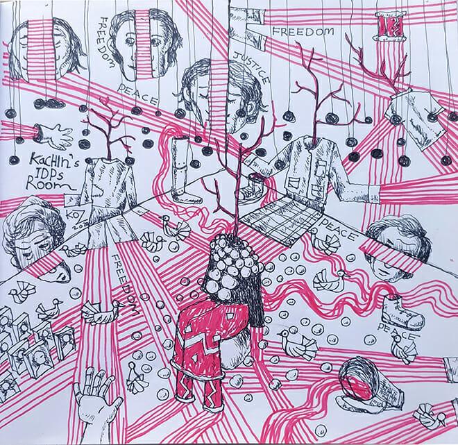 Meet Ko Z, the Man Behind Myanmar's Unique Enviroformance Art