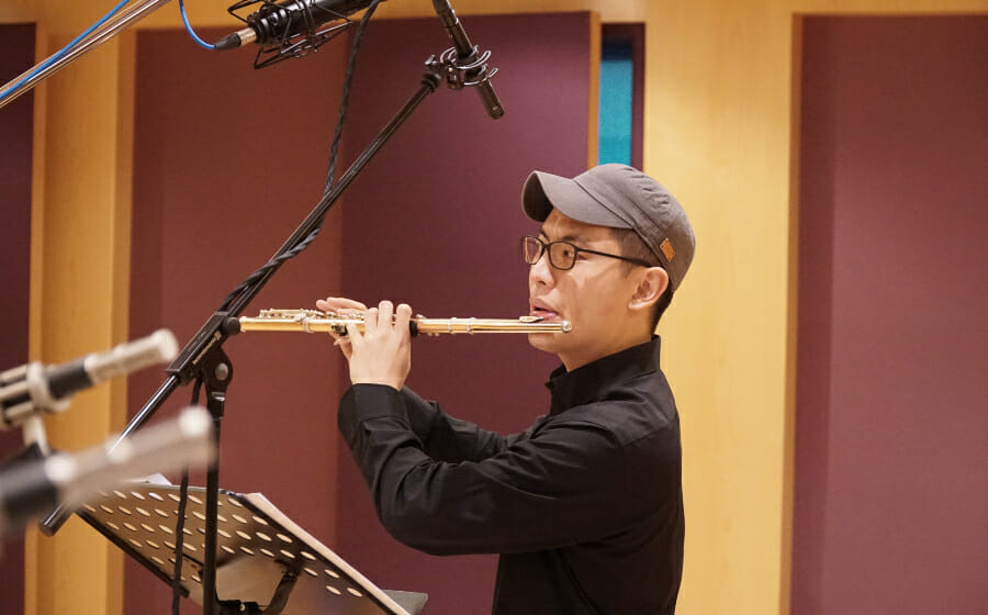 Rit Xu of Evolution Quartet is A Jazz Flautist Who Colours Outside the Lines