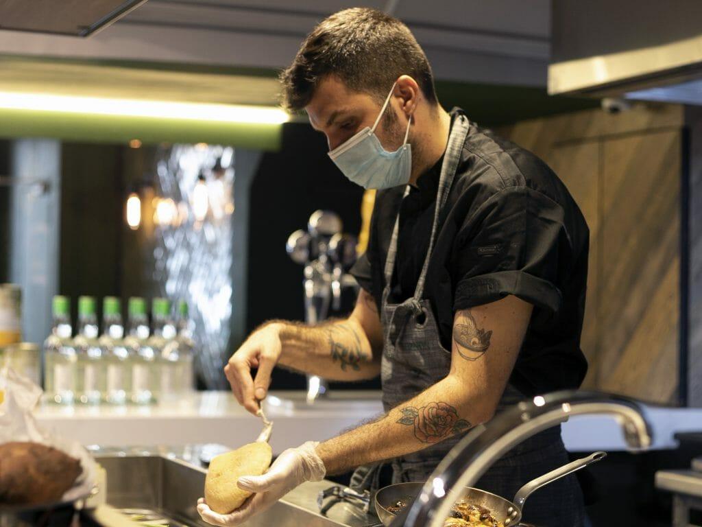 #MensFolioMeets Chef Or Hakmimi, the Executive Chef of Israeli Restaurant Miznon