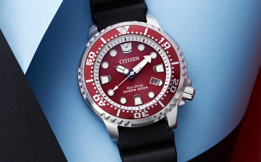 Winner of The Men's Folio Blue Ribbon Watch Awards: The Citizen Promaster Marine Eco-Drive Diver 200m