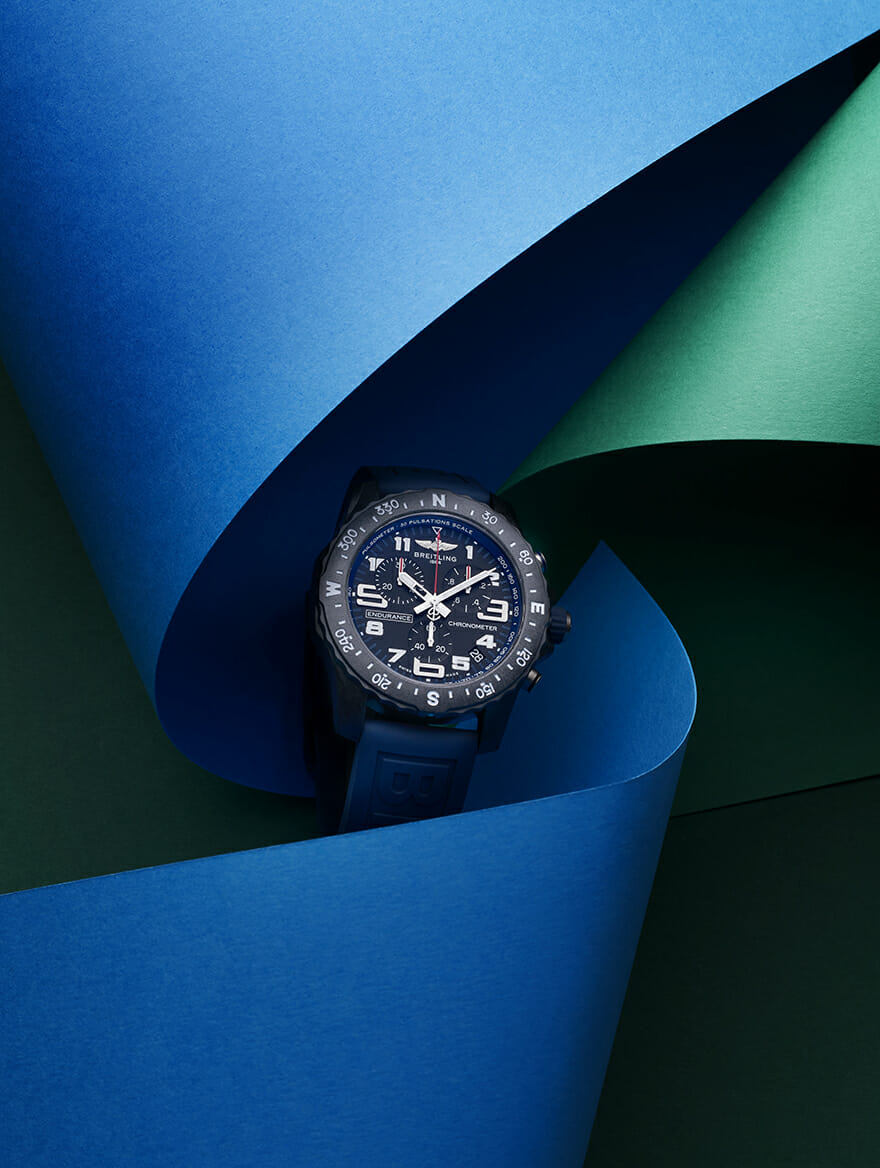 Winner of The Men's Folio Blue Ribbon Watch Awards: The Breitling Endurance Pro