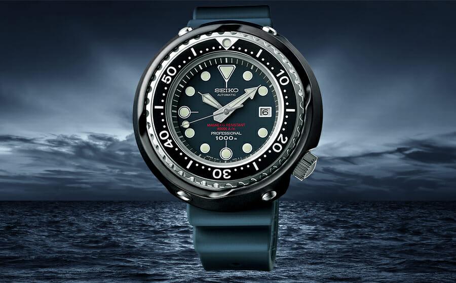 Winner of The Men's Folio Blue Ribbon Watch Awards: The Seiko 1975 Professional Diver's 600m Re-Creation SLA041