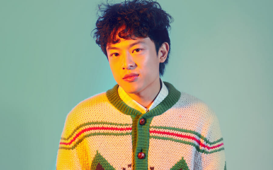 This Christmas, Do a Dru Chen and Put On a Different Christmas Sweater