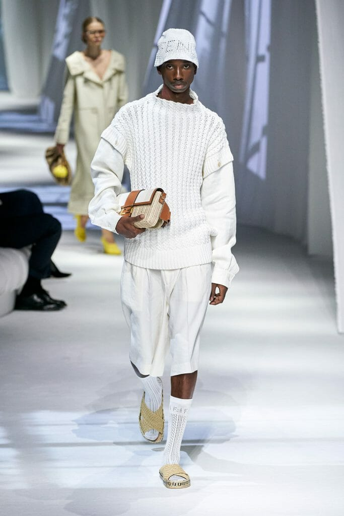 The Bermudas Trend is Back and Better Than Ever Fendi