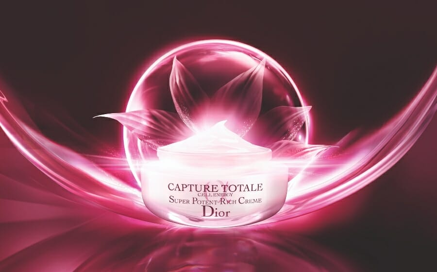 The Magic of The Dior Capture Totale Super Potent Rich Creme is In A Longoza Flower