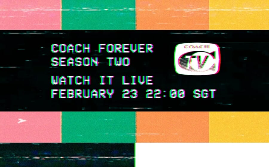 LIVESTREAM — The Coach Fall 2021 Show