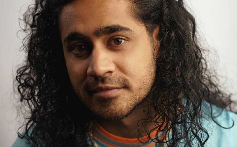 Musician Vishaal Raj Takes on The Forever-Relevant Beach Hair Trend