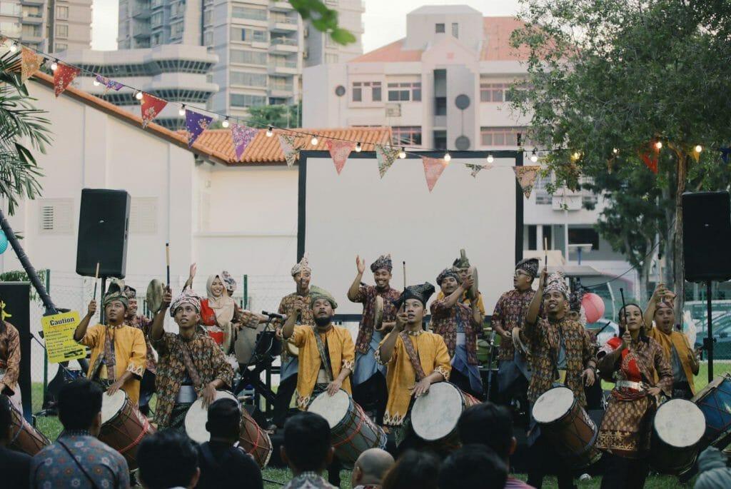 The Musical Stylings of Malayan Percussion Group Nadi Singapura