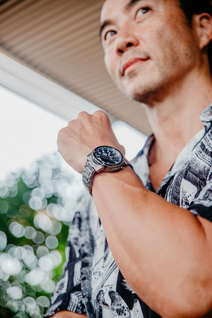 Connect but Live With Casio Edifice