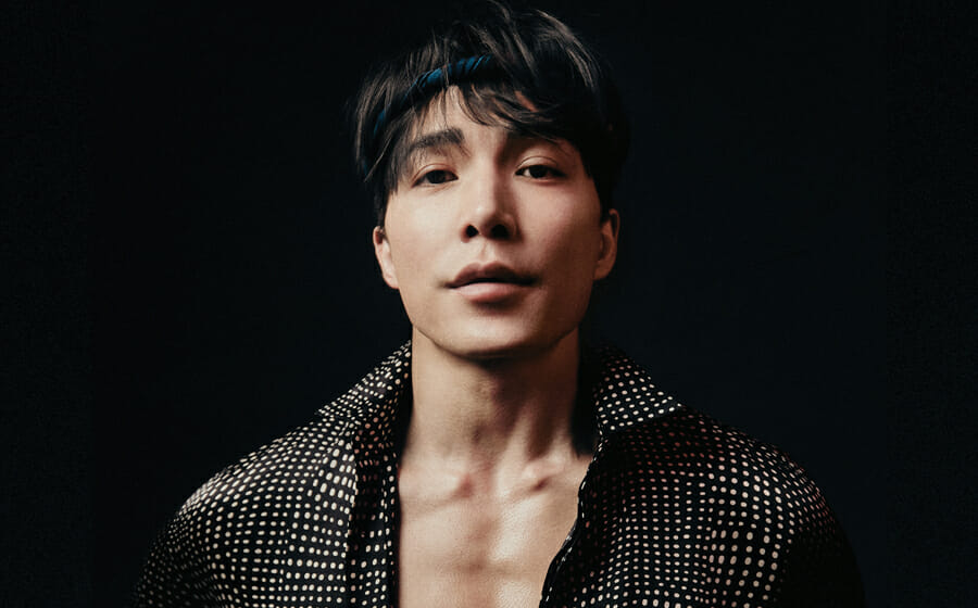 A Close Up with Our April '21 Cover and Mortal Kombat Star Ludi Lin