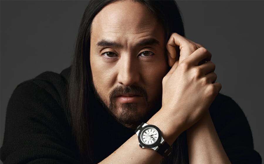 DJ Steve Aoki and Bvlgari Join Forces for The Aluminium
