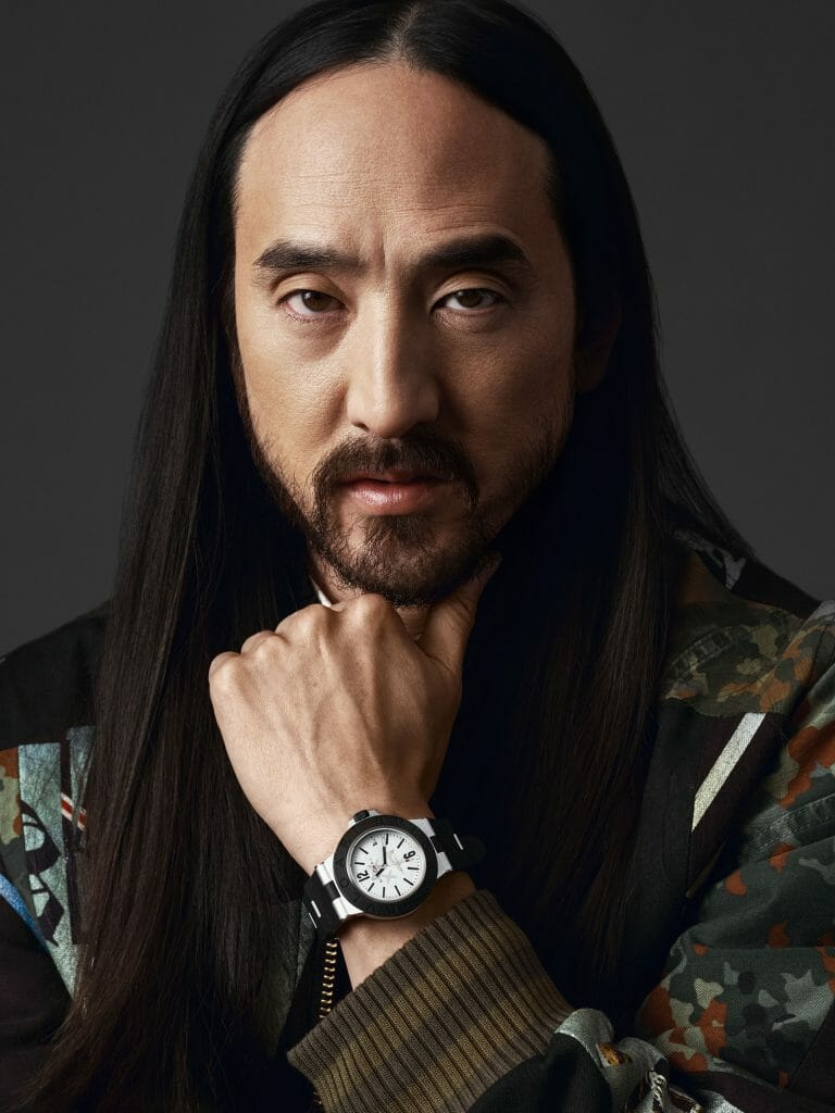 DJ Steve Aoki and Bvlgari Join Forces
