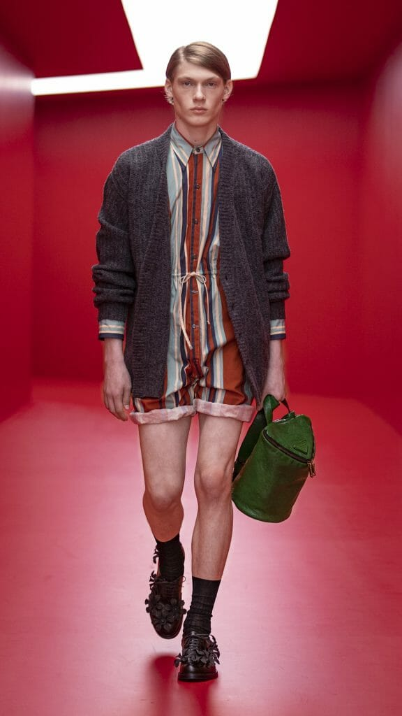 The Prada Spring Summer 2022 Menswear Collection is All About Simple Pleasures