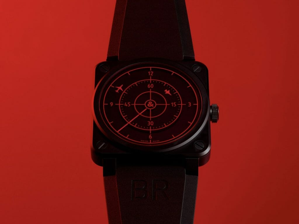 Bell & Ross introduces the BR 03-92 Red Radar Ceramic