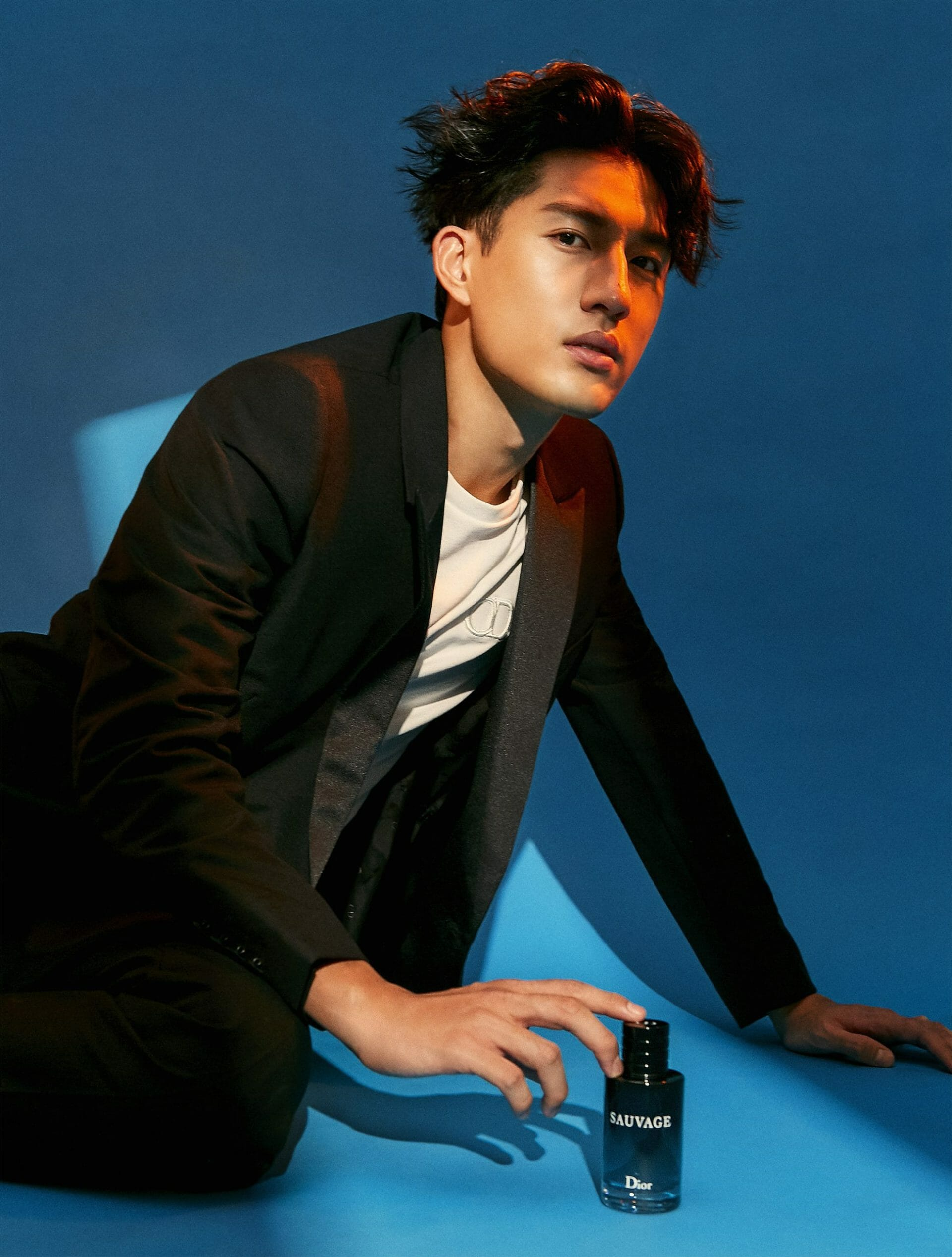 Ayden Sng Chronicles the New Colours of Masculinity With Dior Sauvage