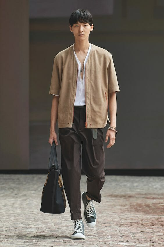 The Hermès Men Summer 2022 Show is All About Micro Trends