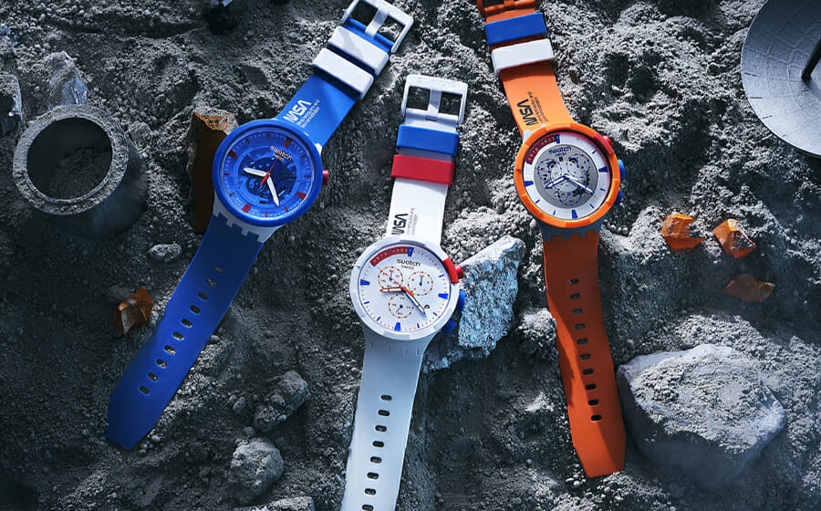 The Latest Swatch Space Collection is Inspired by NASA