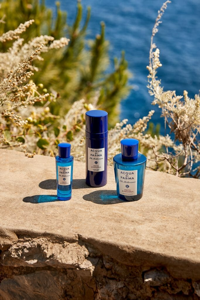 Men's Folio Grooming Awards 2021 Special: The Best Travel Fragrance Acqua di Parma Blu Mediterraneo Mirto di Panarea