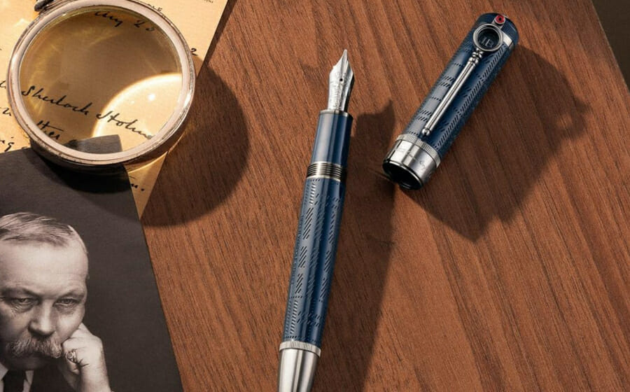 The New Montblanc Writers Edition Collection is Made for Sherlockians